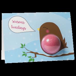 Seasons Tweetings Bath Blaster Greeting Card €4.95