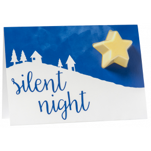 Silent Night Bath Blaster Greeting Card €4.95