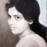 Tonal oil portrait SOLD