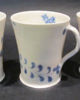 Floral Porcelain Mugs