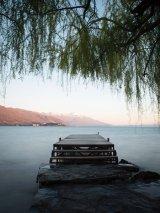 Jetty on Lake Ohrid