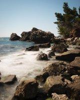 Montenegrin coastline at Bar
