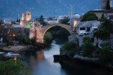 The iconic Mostar Bridge