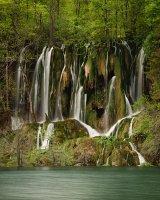 Waterfall, Plitvice Lakes, Croatia