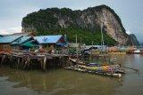 The offshore fishing village of Ko Panyi