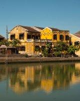 Hoy An riverfront, Vietnam