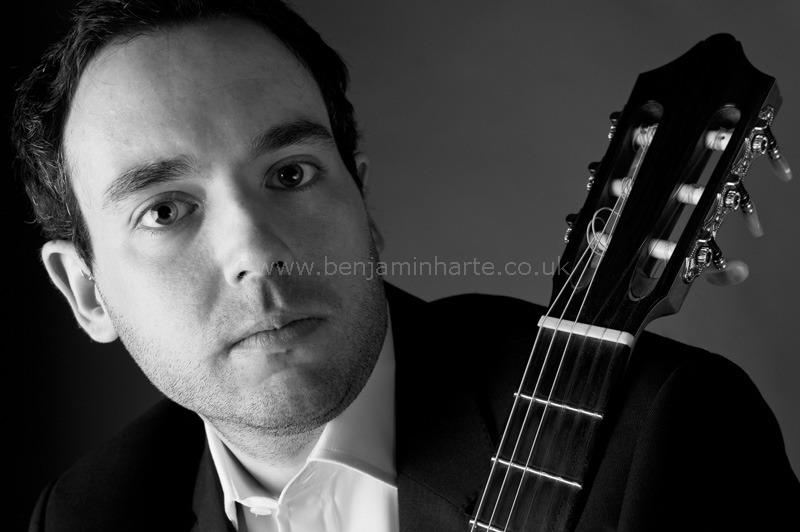 Portrait of guitarist Patrick-Avery-©www.benjaminharte.co.uk-19