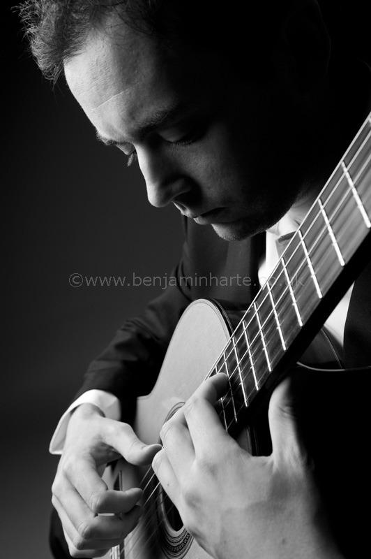 Portrait of guitarist Patrick-Avery-©www.benjaminharte.co.uk-28