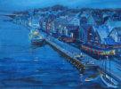 Hauguston at twilight