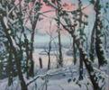Totteridge valley in the snow