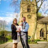 Neve's Christening at St Giles Church Killamarsh 2015