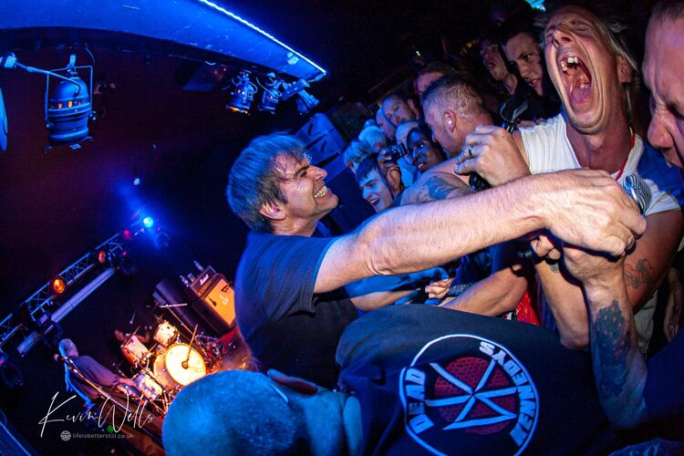 Dead Kennedys at the O2 Academy Sheffield 2014