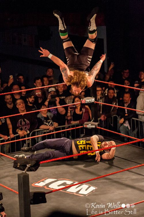 ICW Wrestling at the O2 Academy Sheffield