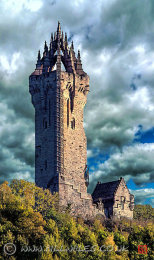 A07 Wallace Monument from Causewayhead.