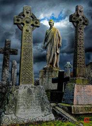 A08 James Renwick Memorial Gravestone in Valley Cemetery.