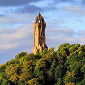 CP01 Wallace Monument on Abbey Craig