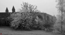 M06 Stirling Old Bridge on a frosty morning