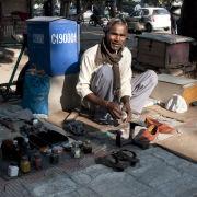 Shoe cleaner, Chandigarh, India