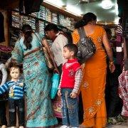 Clothes shop, Rishikesh, India