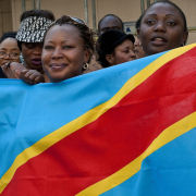 Congolese human rights protest, London
