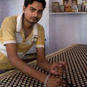 Block printing, Jaipur, India