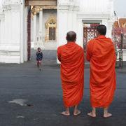 Monks, Bangkok, Thailand