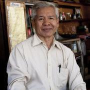 Cafe owner, Luang Prabang, Laos
