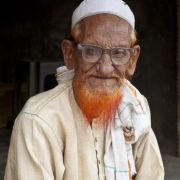 Elderly man, Vrindavan, India