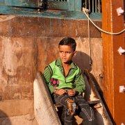 Boy, Vrindavan, India