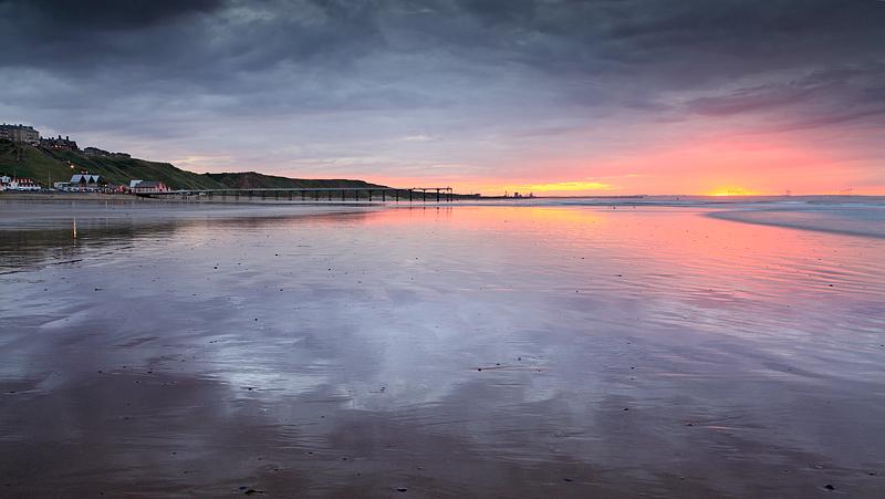 Saltburn Sunset 1
