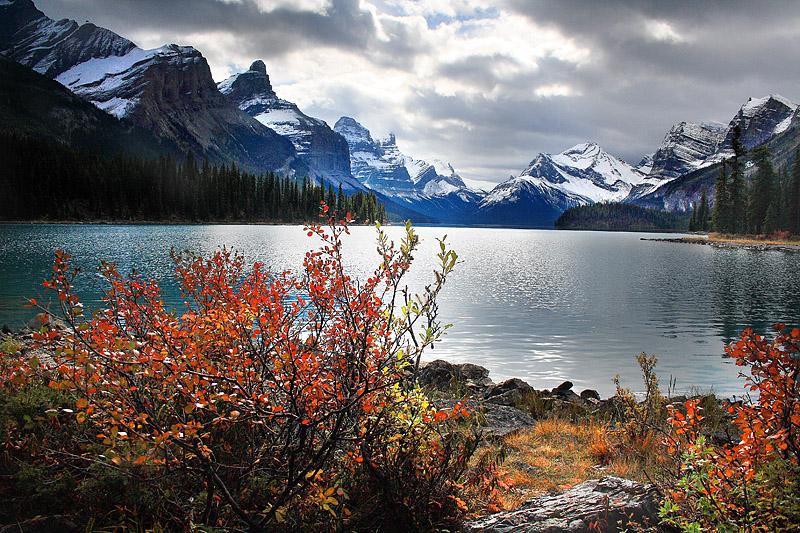 Maligne Lake - Jasper National Park