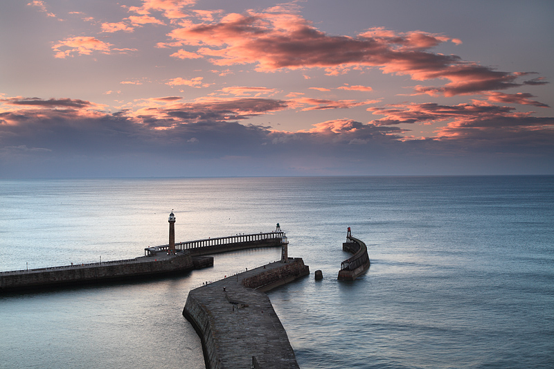 Whitby Sunset 1