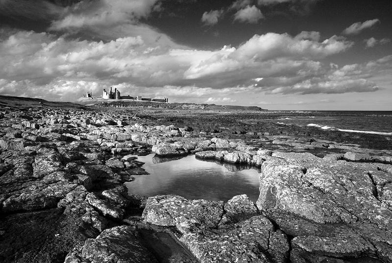 Dunstanburgh Castle 2 mono