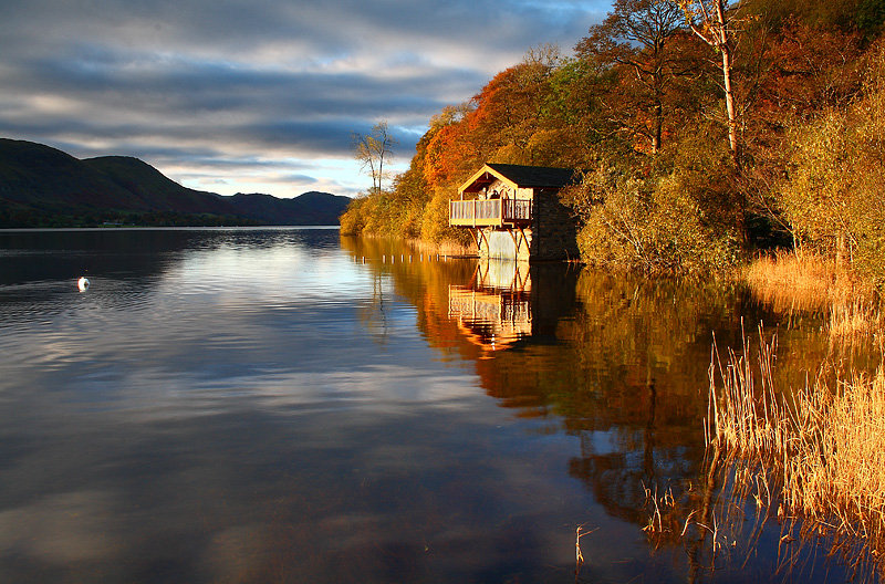 Ullswater Boathouse Dawn 1
