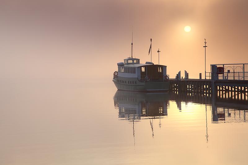 Ullswater Misty Sunset 1