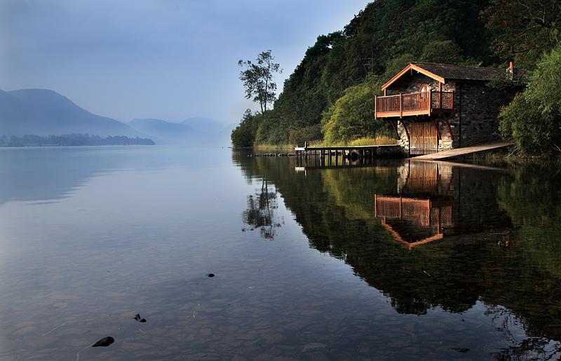 Misty Morn Ullswater Boathouse