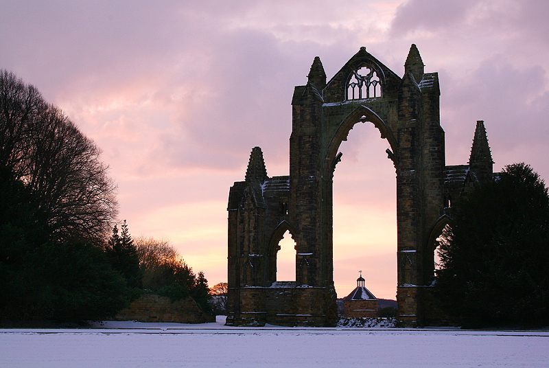 Guisborough Priory Winter