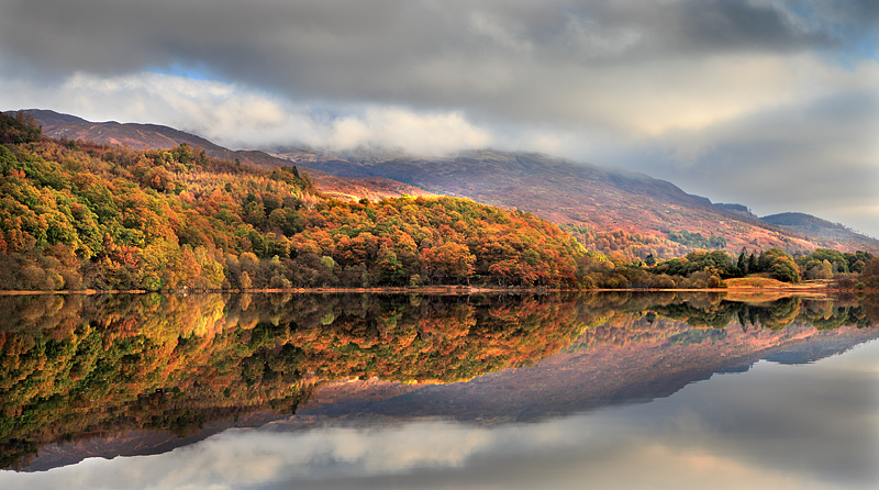 Loch Achray Reflections 2