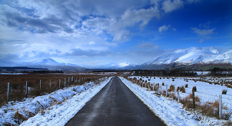 Road To Lakeland Winter