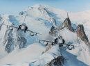 Mirages et Mont Blanc
