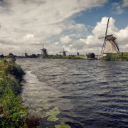 Dutch Windmills in Kinderdijk