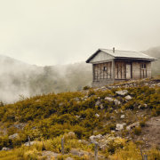 Hut in the Fog