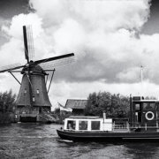 Windmill and Boat