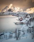 Winter light in Lofoten