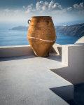 Santorini Urn