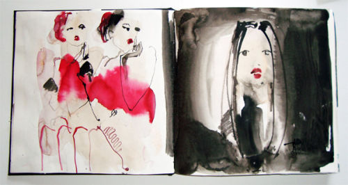 Black sketchbook 3