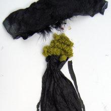 Collage - Big Black Hat