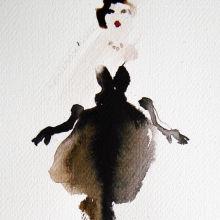 Sketch for dress 1