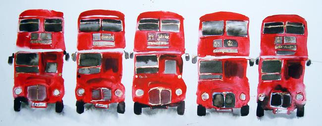 Five Bus Print