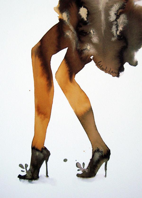Lovely Legs Ochre Tights